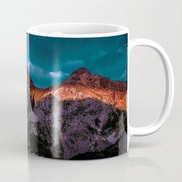 The Volcano Mountain (Color) Coffee Mug