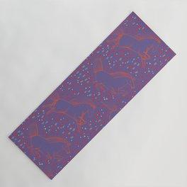 Wild Horses by Friztin - Ultra Violet Yoga Mat