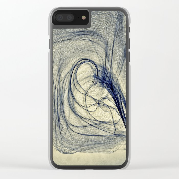 A Web for a Blanket Clear iPhone Case