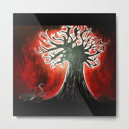 In My Tree Painting Metal Print