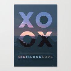 Big Island Love Canvas Print