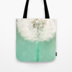 Dandelion Seed Tote Bag