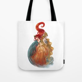 The Three Queens Tote Bag