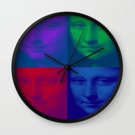 Mona x4 Wall Clock