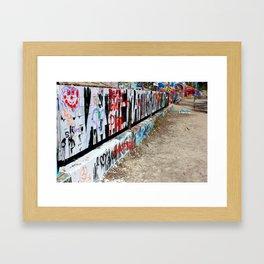Gwen and Parker Framed Art Print