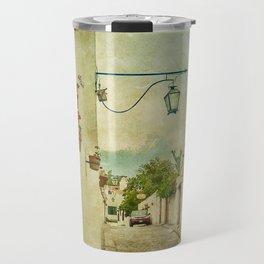 Vintage Grunge Arequipa Street, Peru Travel Mug