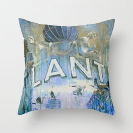 Goodbye Perl - Original revisited Throw Pillow