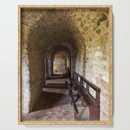 Abbey Farneta Crypt Serving Tray