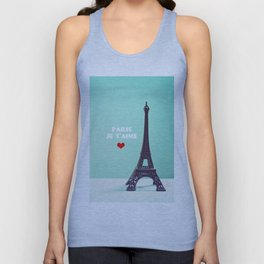 Paris Je T'aime Unisex Tank Top
