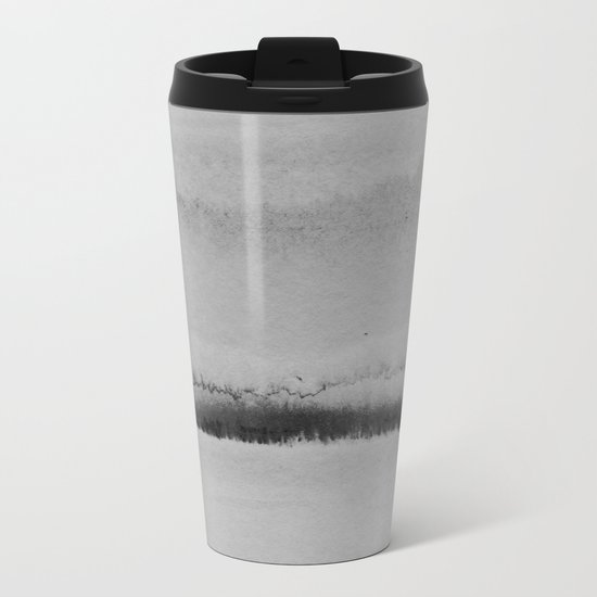 Simple Landscape Metal Travel Mug