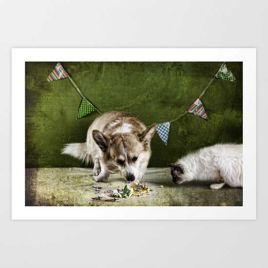 Birthday Rituals Art Print