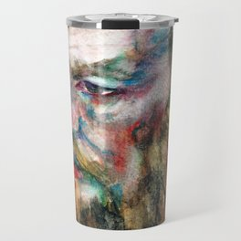 FYODOR DOSTOYEVSKY - watercolor portrait.3 Travel Mug