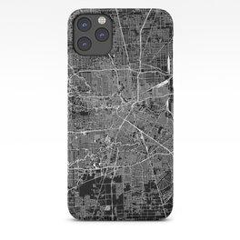 Houston Black Map iPhone Case
