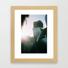 LA Street View IV Framed Art Print