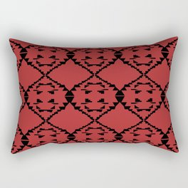 Design ornaments, on Choco Rectangular Pillow