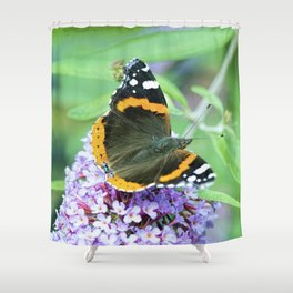 Butterfly VII Shower Curtain