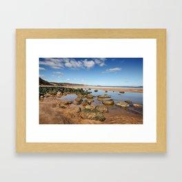 Cayton Bay Framed Art Print