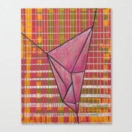 warp and weft // .01 Canvas Print