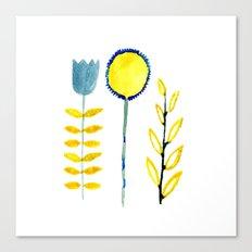 simple flowers Canvas Print