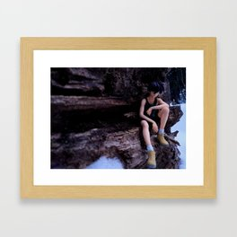 Lone Soldier Framed Art Print