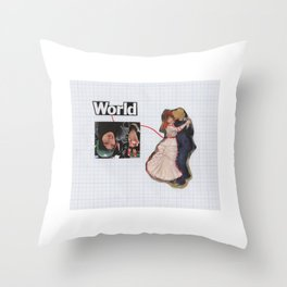 Connection To one Another Throw Pillow