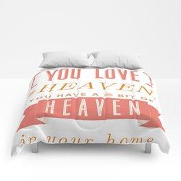 Someone In Heaven-PINK Comforters