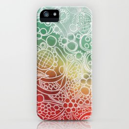 Christmas Bling iPhone Case