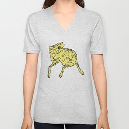 Dog Lover (Golden Retriever) Unisex V-Neck
