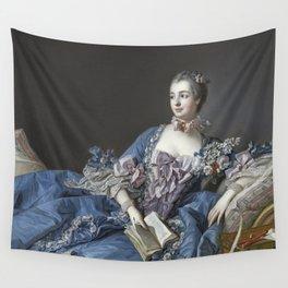 Francois Boucher - Madame De Pompadour Wall Tapestry