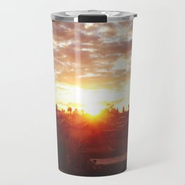 Moroccan Sunset Travel Mug