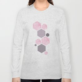 Geometric Affiche Scandinave Long Sleeve T-shirt