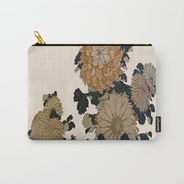 Hokusai, great flowers Carry-All Pouch