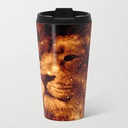 Cosmic Leo Lion Metal Travel Mug