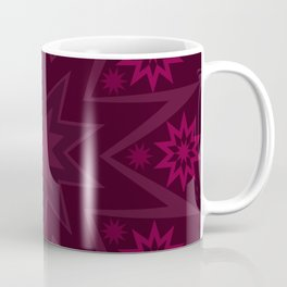 Mulberry Wine Star Flower Coffee Mug
