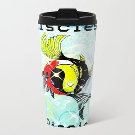 Pisces Astrology Sign Travel Mug