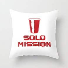 solo mission Throw Pillow