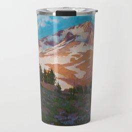 Crown Of The Cascades Travel Mug