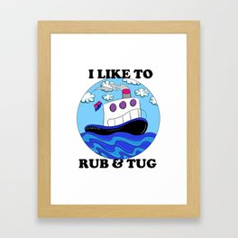 Rub N Tugboat- BI2 Framed Art Print