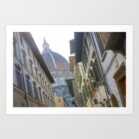 florence Art Prints featuring FLORENCE by Halina  Jasińska photography