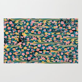 MELTED FLOWERS Rug