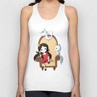 princess Tank Tops featuring Princess by Freeminds