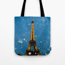 Eiffel Tower by Lika Ramai Tote Bag