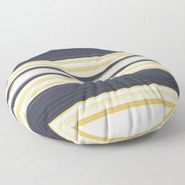 Nautical Stripes Pattern Floor Pillow