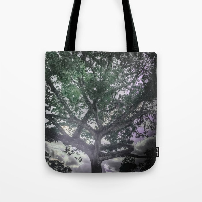 Green and Purple Dreams Tote Bag