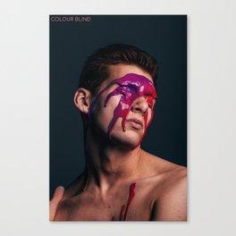 ColourBlind Canvas Print
