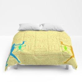Meeting of cultures Comforters
