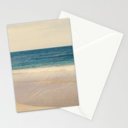 Vintage Beach Photographic Pattern #1 Stationery Cards