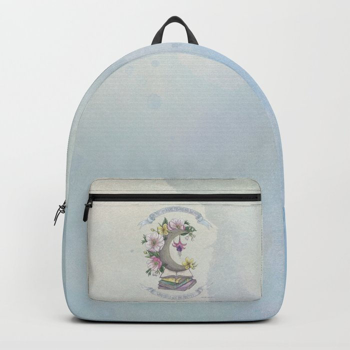 Freedom, Books, Flowers and The Moon Backpack