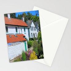 Caldey Island Village.Wales. Stationery Cards
