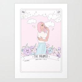 Cancer - The Dreamer Art Print